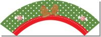 Gingerbread Party - Christmas Cupcake Wrappers