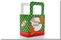 Gingerbread Party - Personalized Christmas Favor Boxes