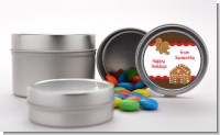 Gingerbread House - Custom Christmas Favor Tins