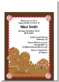 Gingerbread House - Christmas Petite Invitations