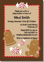 Gingerbread - Christmas Invitations