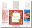 Gingerbread Party - Personalized Christmas Lotion Favors thumbnail