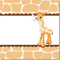 Giraffe Baby Shower Theme