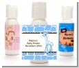 Giraffe Blue - Personalized Baby Shower Lotion Favors thumbnail