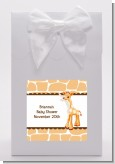 Giraffe Brown - Baby Shower Goodie Bags