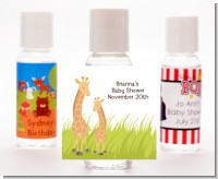 Giraffe - Personalized Baby Shower Hand Sanitizers Favors