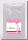 Giraffe Pink - Baby Shower Goodie Bags