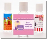Glamour Girl - Personalized Birthday Party Hand Sanitizers Favors
