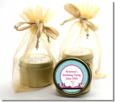 Glamour Girl Makeup Party - Birthday Party Gold Tin Candle Favors