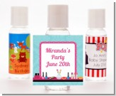 Glamour Girl Makeup Party - Personalized Birthday Party Hand Sanitizers Favors