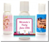 Glamour Girl Makeup Party - Personalized Birthday Party Lotion Favors