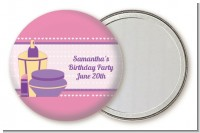 Glamour Girl - Personalized Birthday Party Pocket Mirror Favors