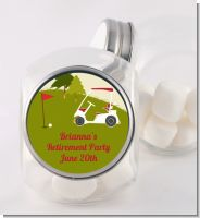 Golf Cart - Personalized Birthday Party Candy Jar