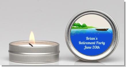 Gone Fishing - Birthday Party Candle Favors