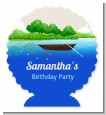 Gone Fishing - Personalized Birthday Party Centerpiece Stand thumbnail