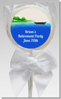 Gone Fishing - Personalized Birthday Party Lollipop Favors