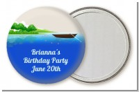 Gone Fishing - Personalized Birthday Party Pocket Mirror Favors