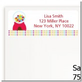 Gumball - Birthday Party Return Address Labels