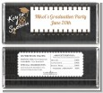 Grad Keys to Success - Personalized Graduation Party Candy Bar Wrappers thumbnail