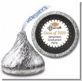 Grad Keys to Success - Hershey Kiss Graduation Party Sticker Labels thumbnail