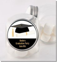 Graduation Cap - Personalized Graduation Party Candy Jar