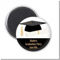 Graduation Cap - Personalized Graduation Party Magnet Favors