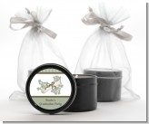 Graduation Diploma - Graduation Party Black Candle Tin Favors