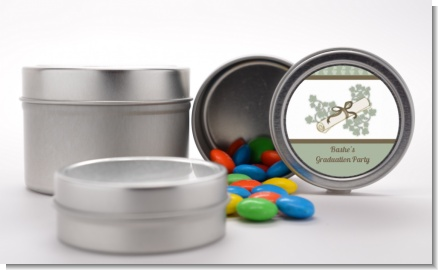 Graduation Diploma - Custom Graduation Party Favor Tins