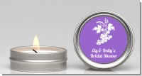 Grapes - Bridal Shower Candle Favors
