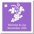 Grapes - Personalized Bridal Shower Card Stock Favor Tags thumbnail