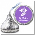Grapes - Hershey Kiss Bridal Shower Sticker Labels thumbnail