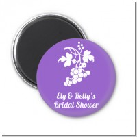 Grapes - Personalized Bridal Shower Magnet Favors