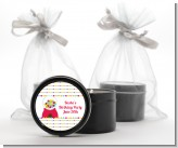 Gumball - Birthday Party Black Candle Tin Favors