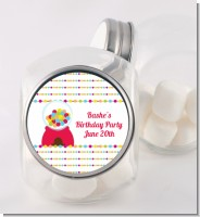 Gumball - Personalized Birthday Party Candy Jar
