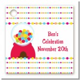 Gumball - Personalized Birthday Party Card Stock Favor Tags