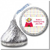 Gumball - Hershey Kiss Birthday Party Sticker Labels