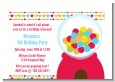 Gumball - Birthday Party Petite Invitations thumbnail