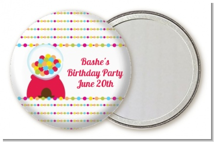 Gumball - Personalized Birthday Party Pocket Mirror Favors