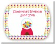 Gumball - Personalized Birthday Party Rounded Corner Stickers thumbnail