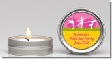 Gymnastics - Birthday Party Candle Favors