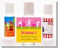 Gymnastics - Personalized Birthday Party Hand Sanitizers Favors thumbnail