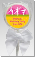 Gymnastics - Personalized Birthday Party Lollipop Favors