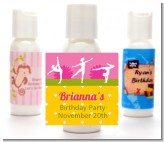 Gymnastics - Personalized Birthday Party Lotion Favors