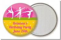 Gymnastics - Personalized Birthday Party Pocket Mirror Favors