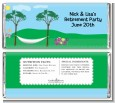 Hammock - Personalized Retirement Party Candy Bar Wrappers thumbnail