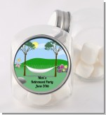Hammock - Personalized Retirement Party Candy Jar