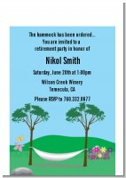 Hammock - Retirement Party Petite Invitations