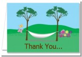 Hammock - Retirement Party Thank You Cards