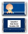 Hanukkah Baby - Personalized Baby Shower Mini Candy Bar Wrappers thumbnail