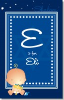 Hanukkah Baby - Personalized Baby Shower Nursery Wall Art